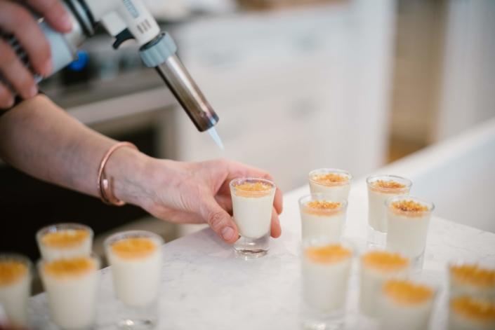 creme brulee-dessert-catering